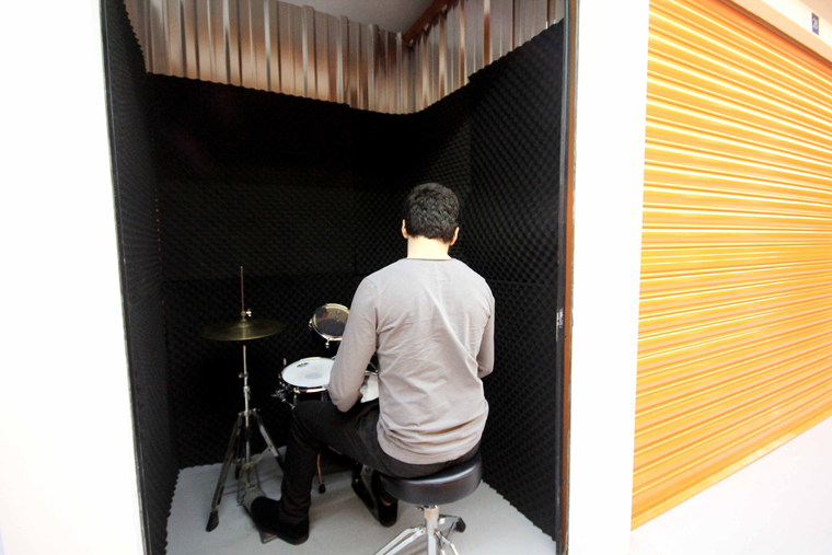 Sound proof Music Studio& reharsal room.
